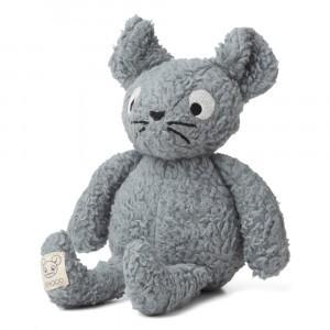 Liewood Knuffel Monsieur the Mouse Blue Fog