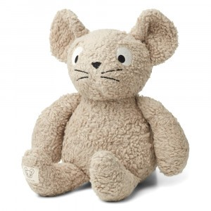 Liewood Knuffel Mille the Mouse Pale Grey