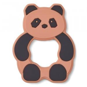 Liewood Silicone Bijtring Panda Tuscany Rose