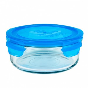 Wean Green Glazen Meal Bowl Blauw