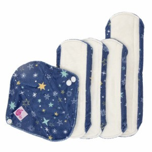 Cheeky Wipes Uitwasbaar Maandverband Starry Night 5 stuks