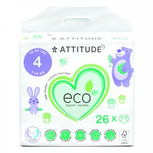 Attitude Baby Care Luier maat 4 (26 stuks)