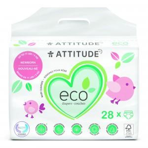 Attitude Baby Care Luier Newborn (28 stuks)