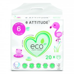 Attitude Baby Care Luier Maat 6 (20 stuks)