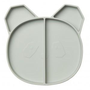 Liewood Silicone Bord Panda Mint