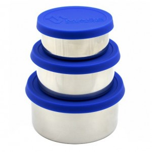 Made Sustained Lunchbox (set van 3) Blauw
