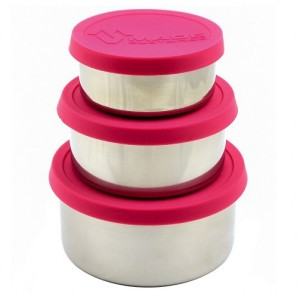 Made Sustained Lunchbox (set van 3) Roze