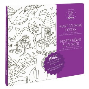 OMY Kleur Poster - Magic