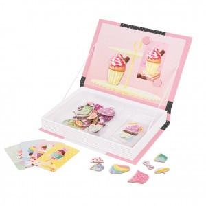 Janod Magneetboek Cupcakes