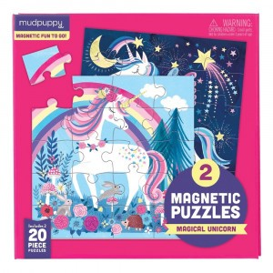 Mudpuppy Puzzel Magnetic Fun Magical Unicorn
