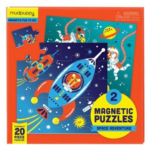 Mudpuppy Puzzel Magnetic Fun Space Adventure