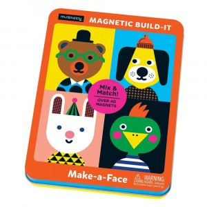 Mudpuppy Magnetisch Spel Make-a-Face