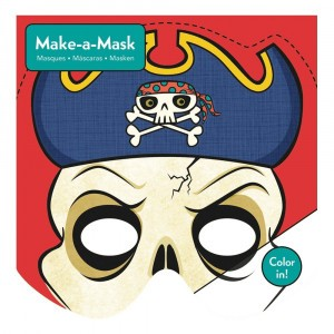 Mudpuppy Make-A-Mask Knutselpakket Pirates
