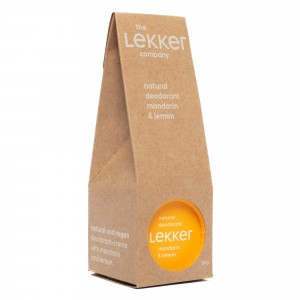 The Lekker Company Deodorant Mandarijn & Citroen