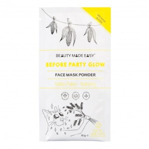 Beauty Made Easy Gezichtsmasker - Before Party Glow (10g)