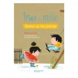 """Davidsfonds Voorleesverhaaltjes Max & Millie """"Spelen op het pleintje"""""""
