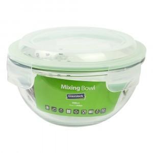 Glasslock Glazen Saladekom 1000 ml