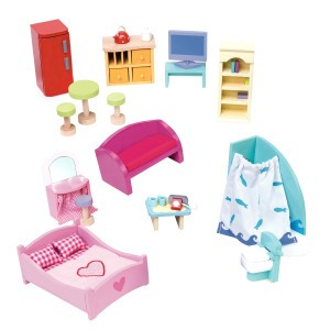 Le Toy Van Poppenhuis Set Meubels