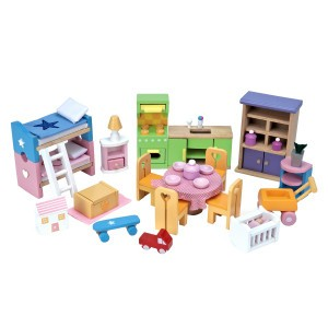 Le Toy Van Poppenhuis Startset Meubels