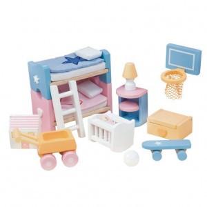 Le Toy Van Poppenhuis Inrichting Sugar Plum Kinderkamer