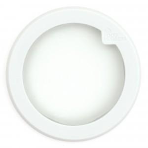 Food Huggers Lid Large Soft White