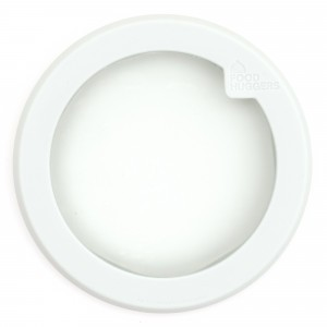 Food Huggers Lid Medium Soft White