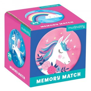Mudpuppy Mini Memory Unicorn Magic