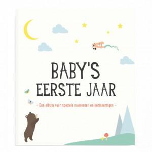 Milestone Album Baby's Eerste Jaar