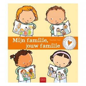 Clavis 'Kriebels in je buik' Informatief Leesboek Mijn familie, jouw familie