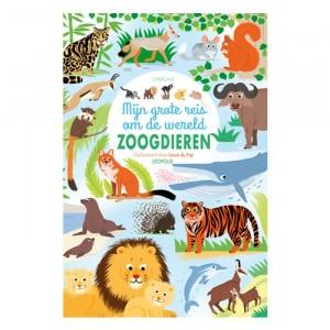 Standaard Uitgeverij Informatief Prentenboek Mijn grote reis om de wereld 'Zoogdieren'
