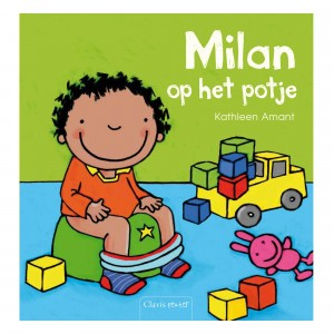 Clavis Leesboekje Milan op het potje