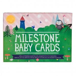Milestone Baby Cards Nederlandstalige versie