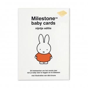 Milestone Nijntje Baby Cards Nederlandstalige versie