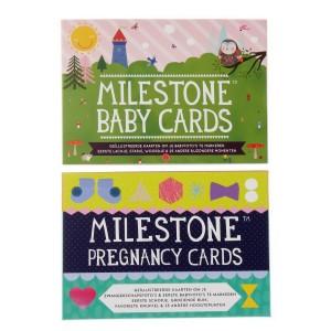 Milestone Set van Pregnancy Cards + Baby Cards Nederlandstalig versie Voordeelpakket