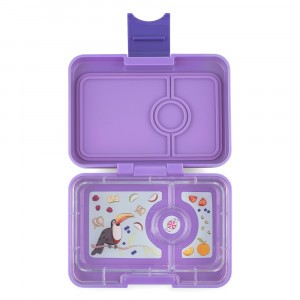 Yumbox Mini Dreamy Purple met Toucan Tray