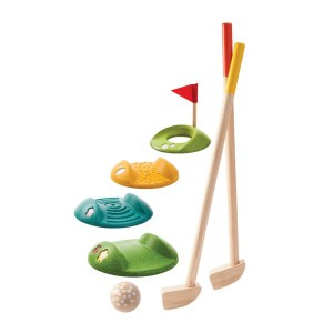 PlanToys Minigolf full set