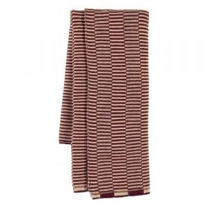 Oyoy Stringa Mini Handdoek Aubergine/Rose