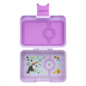 Yumbox Mini Lila Purple met Toucan Tray