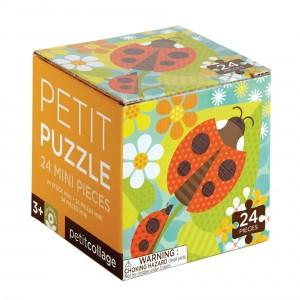 Petit Collage Mini Puzzel Tuin Lieveheersbeestje