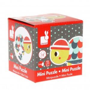 Janod Mini Puzzel Schildpad