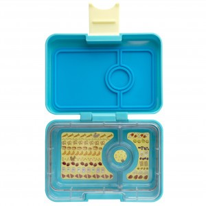 Yumbox Mini Cannes Blue met Kittycat Tray