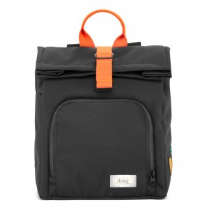 Dusq Rugzak Night Black/Fresh Orange