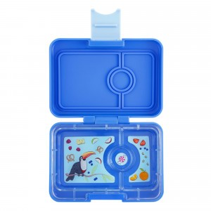 Yumbox Mini Jodphur Blue met Toucan Tray