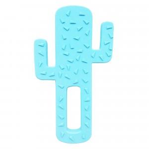 MiniKOiOi Bijtring Cactus Blauw