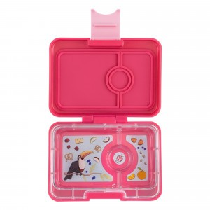 Yumbox Mini Lotus Pink met Toucan Tray