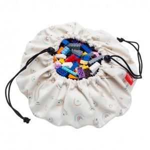 Play & Go Opbergzak/Speelkleed Mini Rainbow