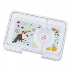 Yumbox Mini Tray Toucan