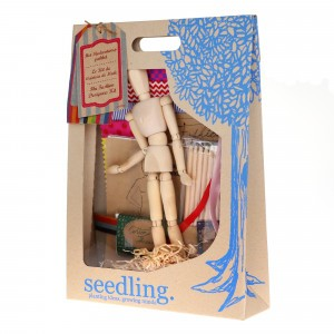 Seedling Knutselpakket De mode-ontwerpster kit