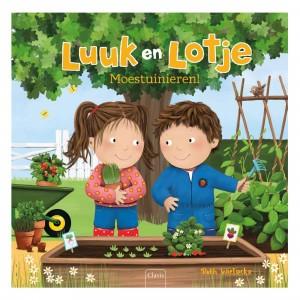 Clavis Leesboekje Luuk en Lotje, Moestuinieren!