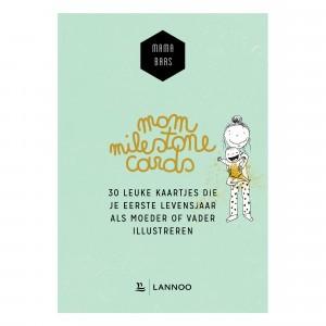 Lannoo Mama Baas 'Mom Milestone Cards'